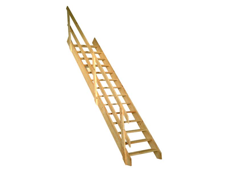 Rampe escalier de meunier galico - Escalier de meunier ...
